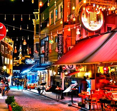 Vida nocturna Turquía