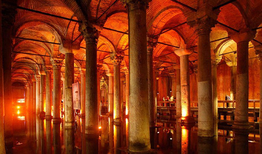 Cisterna de Basílica, Turquía