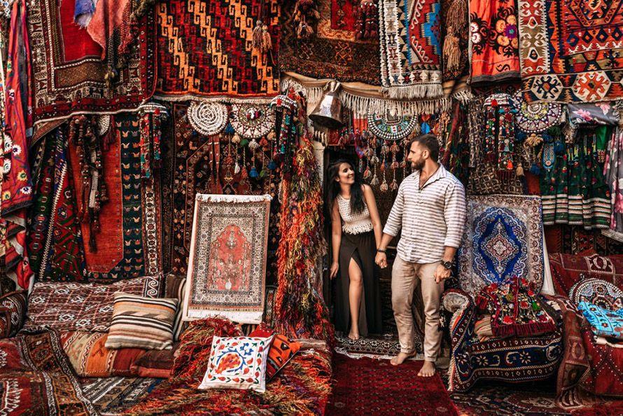 Viaje de novios a Turquía