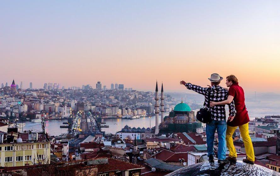 Turquía en Pareja