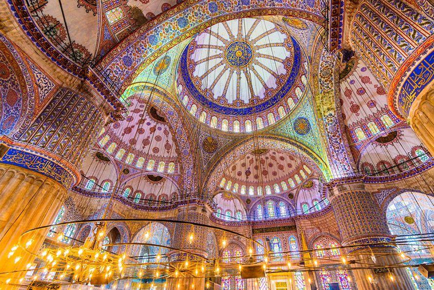 Mezquita Azul, Turquía