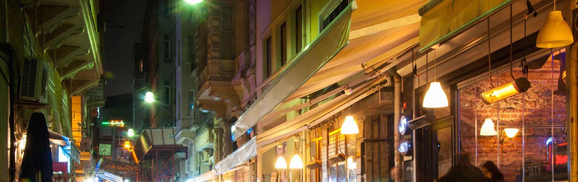Turquía de noche