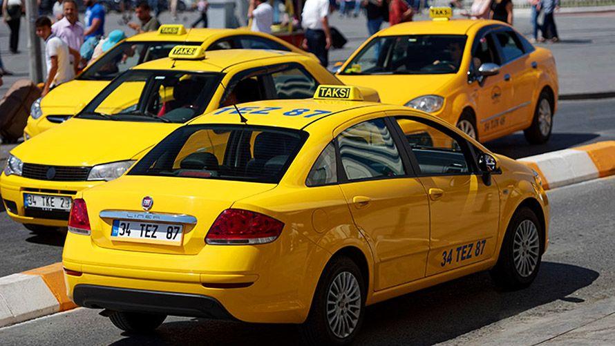 Taxi en Turquía