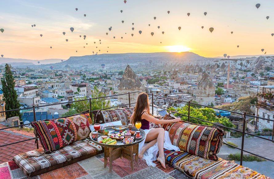 Viaje romántico para parejas en Turquía