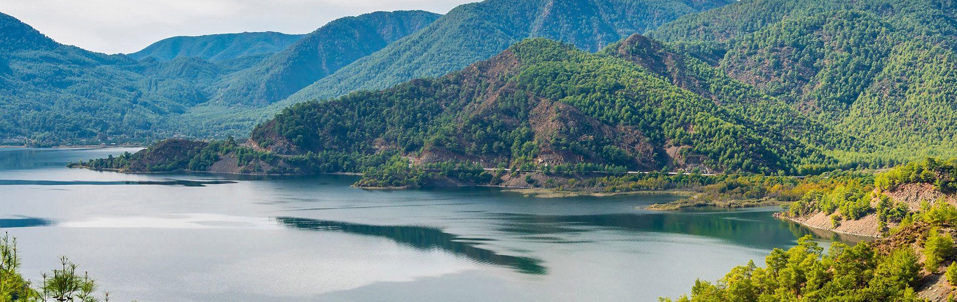 Lake Koycegiz, Turquía