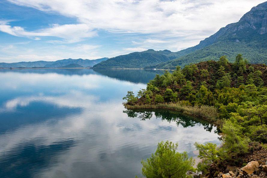 Lake Köyceğiz, Turquía