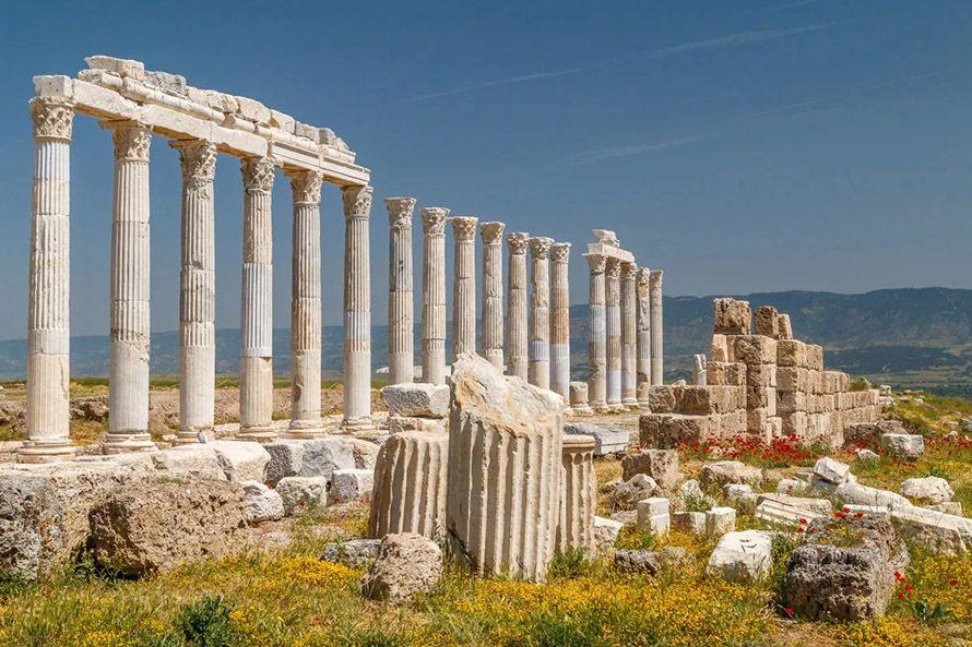 Cómo llegar a Laodicea, Turquía
