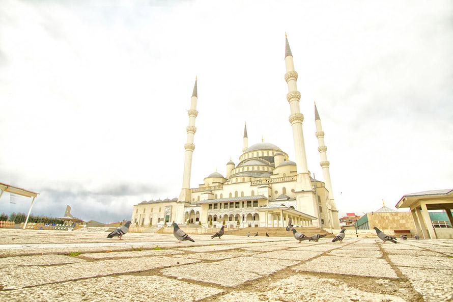 Mezquita Kocatepe, Turquía