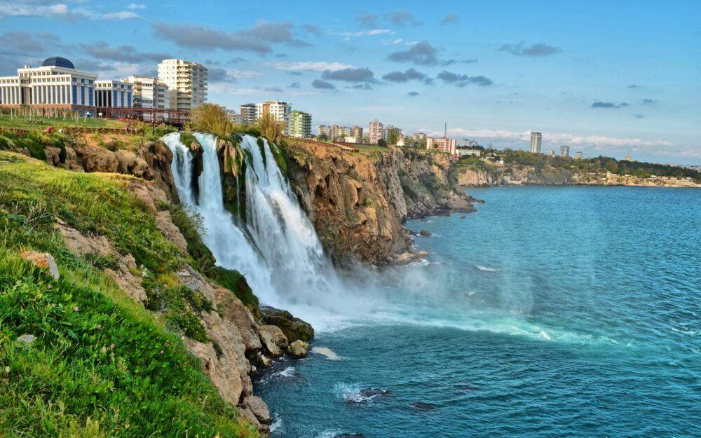 Turquía waterfalls