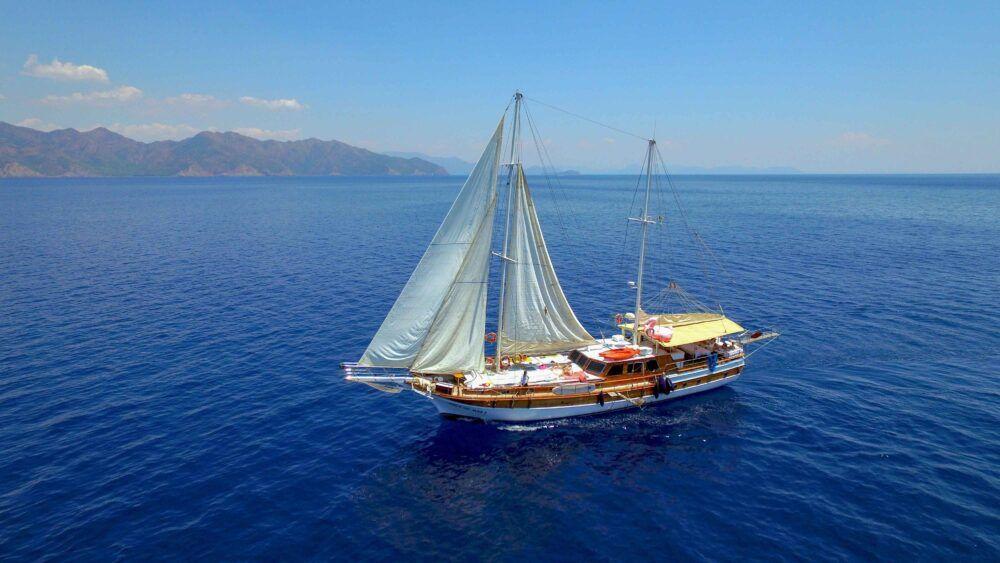 Turquía en barco