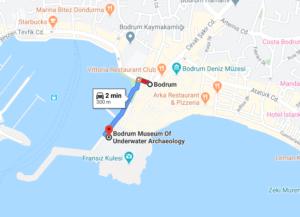 Cómo llegar a Bodrum Museum Of Underwater Archaeology, Turquía