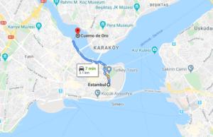 Cómo llegar a Cuerno de Oro, Turquía, desde Estambul