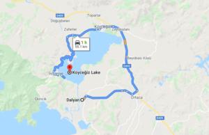 Cómo llegar a Lake Köyceğiz, Turquía, desde Dalyan