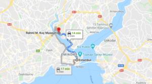 Cómo llegar a Rahmi M. Koç Museum, Turquía, desde Estambul