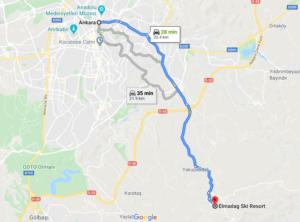 Elmadag Ski Resort desde Ankara