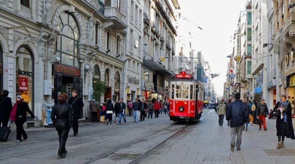Avenida de İstiklal, Turquía
