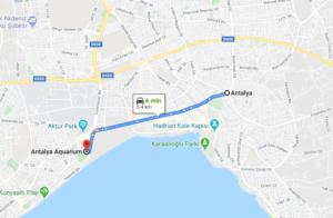 Cómo llegar a Antalya Aquarium, Turquía