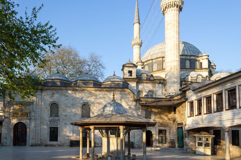 Mezquita de Eyup Sultan, Turquía