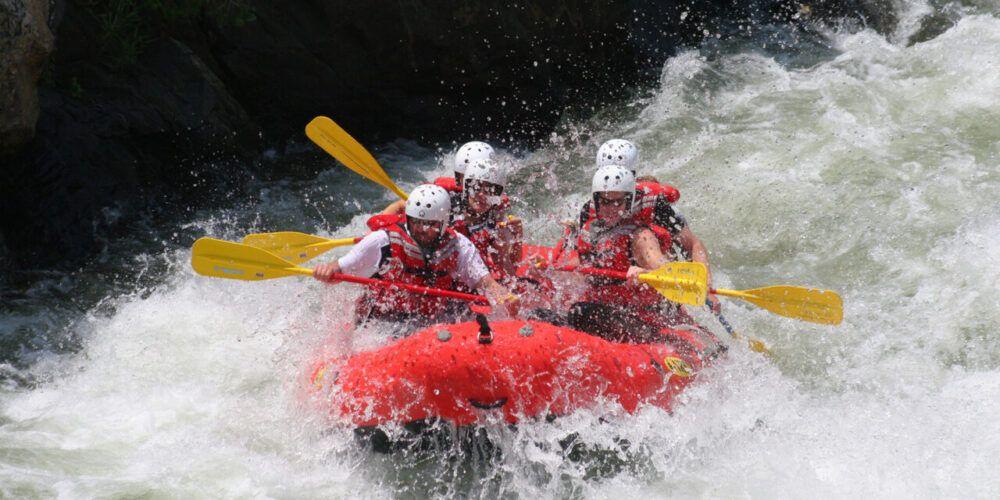 Hacer rafting en Turquía