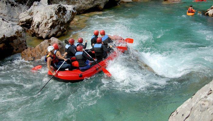 Motivos para hacer rafting