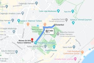 Cómo llegar a Museo de Arte Turco e Islámico, Turquía, desde Estambul