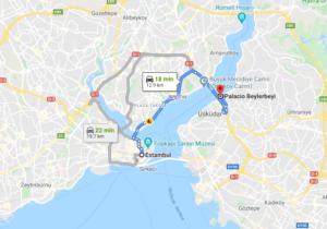 Cómo llegar a Palacio Beylerbeyi, Turquía, desde Estambul