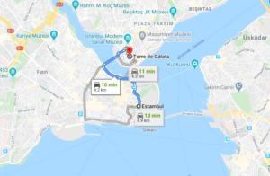 Cómo llegar a Torre de Gálata, Turquía, desde Estambul