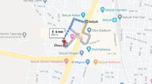 Cómo llegar a Museo Arqueológico de Éfeso, Turquía desde Selcuk