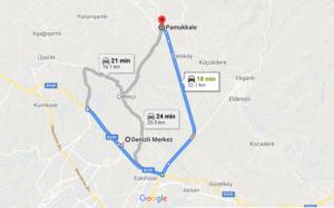 Cómo llegar a Pamukkale, Turquía