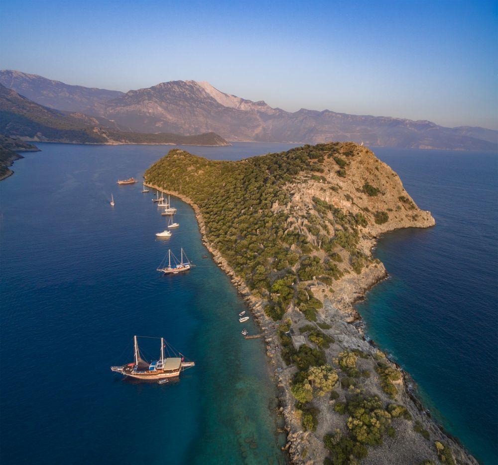 Isla Gemiler, Turquía
