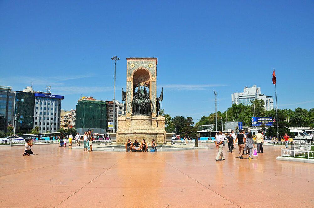 Plaza Taksim, Turquía