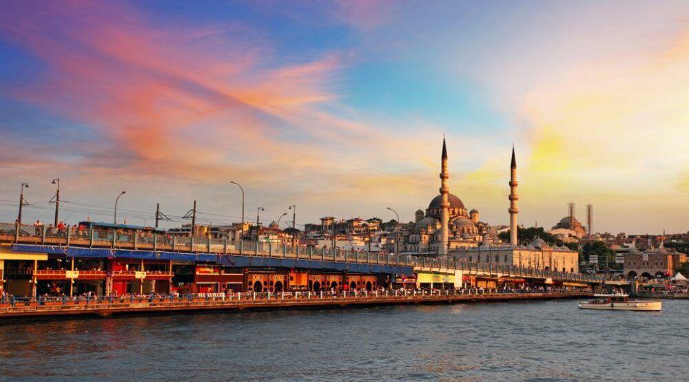 Puente de Gálata, Turquía